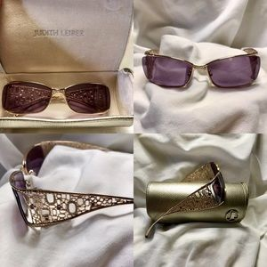 Judith Leiber Indian Art Sunglasses JL 1557